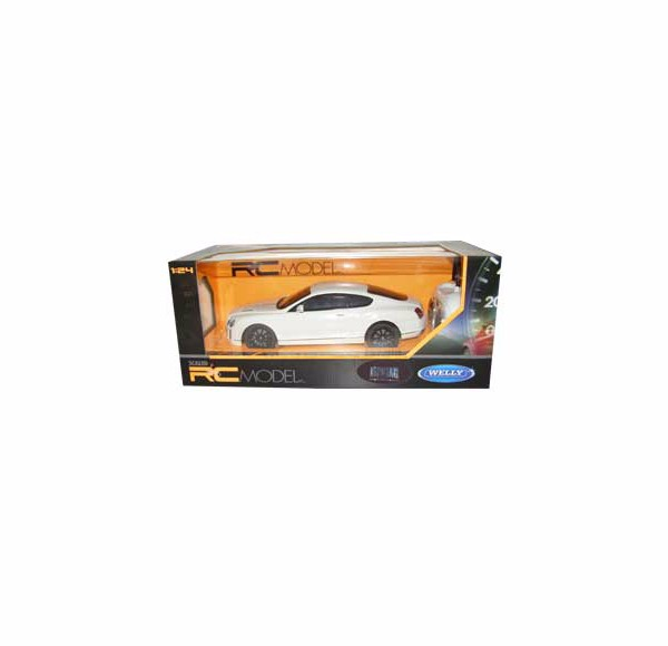 Auto RC 1:24 Welly BENTLEY Continent. supersport biely