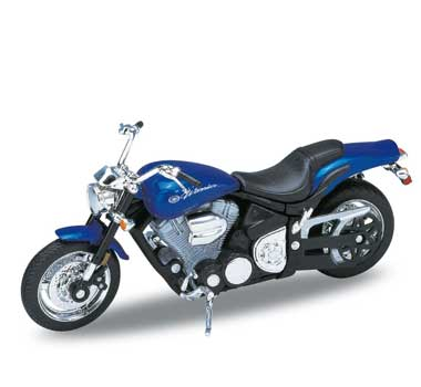Motorka 1:18 Welly YAMAHA ROAD STAR WARRIOR