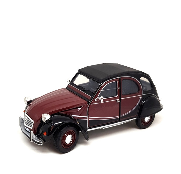 Auto 1:24 Welly CITROEN  2CV 6 Charleston