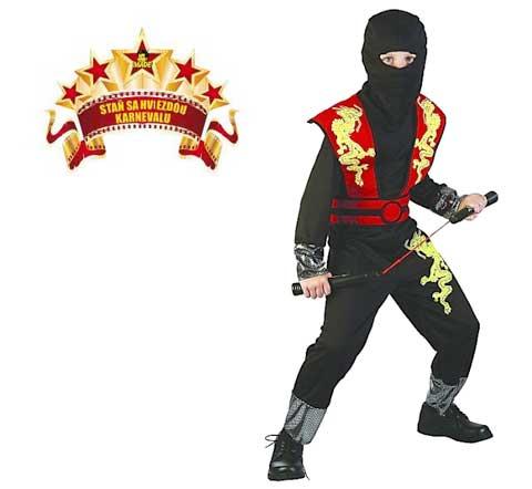 MaDe Karnevalový kostým Ninja M