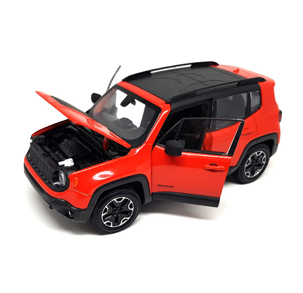 Auto 1:24 Welly JEEP Renegade Trailhawk