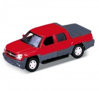 Auto 1:34 Welly Chevrolet 02 Avalanche červený