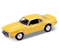 Auto 1:34 Welly Chevrolet 68 Camaro Z28 žltý