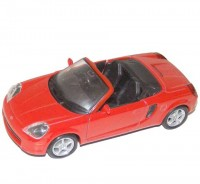 Auto 1:34 Welly Toyota MR2 Spyder červená