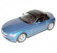 Auto 1:34 Welly BMW Z4 modré