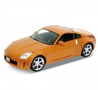 Auto 1:34 Welly Nissan Fairlady Z modrý