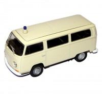 Auto 1:34 Welly 1972 VW Bus T2 sanitný