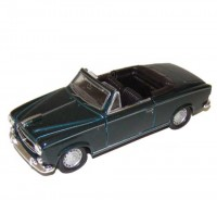 Auto 1:34 Welly Peugeot 403 1957 zelený