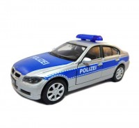 Auto 1:34 Welly BMW 330i policajný