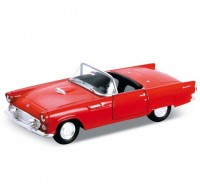Auto 1:34 Welly Ford 55 Thunderbird červený