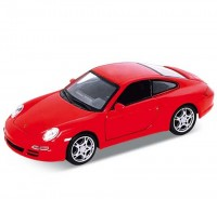 Auto 1:34 Welly Porsche 911(997) Carrera S Coupe červené
