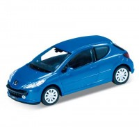 Auto 1:34 Welly Peugeot 207