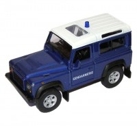 Auto 1:34 Welly Land Rover Defender Gendarmerie