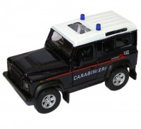 Auto 1:34 Welly Land Rover Defender Carabinieri