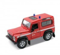 Auto1:34 Welly Land Rover Defender hasiči