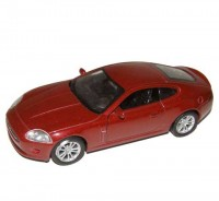 Auto 1:34 Welly Jaguar XK coupe bordový