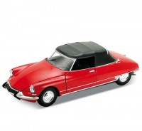 Auto 1:34 Welly CITROEN DS19 červený