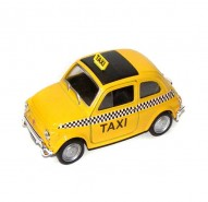Auto 1:34 Welly Fiat Nuova 500 Taxi