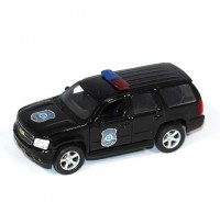 Auto 1:34 Welly Chevrolet 08 Tahoe policajný