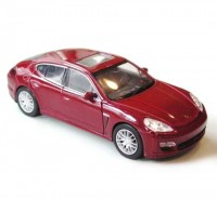 Auto 1:34 Welly Porsche Panamera S bordová
