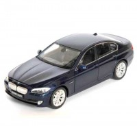 Auto 1:34 Welly BMW 535i modré