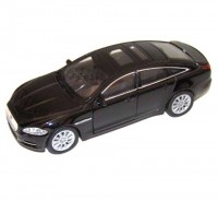 Auto 1:34 Welly Jaguar XJ čierny