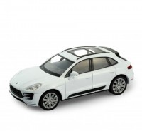 Auto 1:34 Welly Porsche Macan Turbo biely