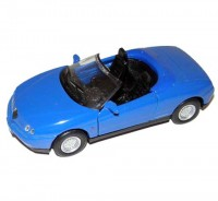 Auto 1:34 Welly ALFA ROMEO SPIDER modrá
