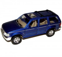 Auto 1:34 Welly Ford Explorer modrý
