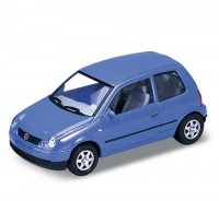 Auto 1:34 Welly VW LUPO modré