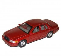 Auto 1:34 Welly Ford Crown Victoria 99 červený