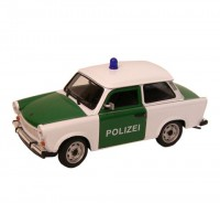 Auto 1:24 Welly Trabant 601Polizei