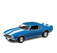 Auto 1:18 Welly 1968 Chevrolet Camaro Z28 modrý