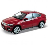 Auto 1:18 Welly BMW X6 bordové