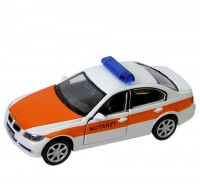 Auto 1:34 Welly BMW 330i notarzt