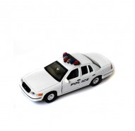 Auto 1:34 Welly 99 Ford Crown Victoria policajný