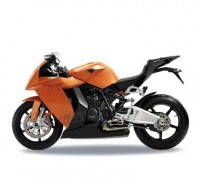 Motorka 1:10 Welly KTM 1190 RC8