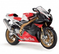 Motorka 1:10 Welly  Aprilia RSV1000R Factory