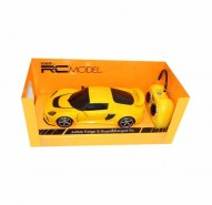 Auto RC 1:24 Welly Lotus Exide S S V6 žltý