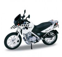 Motorka 1:18 Welly BMW F650GS DAKAR