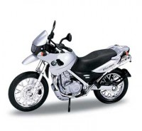 Motorka 1:18 Welly BMW F650GS