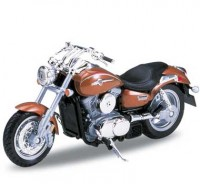 Motorka 1:18 Welly KAWASAKI VULCAN 1500 MEAN STRIKE