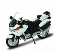 Motorka 1:18 Welly BMW R 1200 RT US Police