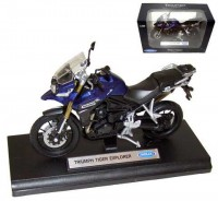 Motorka 1:18 Welly Triumph Tiger Explorer