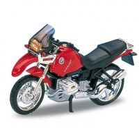 Motorka 1:18 Welly BMW R 1100 GS