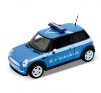 Auto 1:24 Welly MINI COOPER POLIZIA