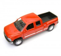 Auto 1:24 Welly CHEVROLET SILVERADO čierny