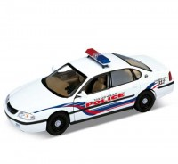 Auto 1:24 Welly Chevrolet 01 Impala police