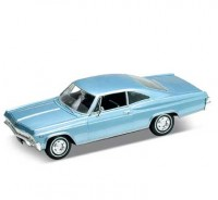 Auto 1:24 Welly Chevrolet Impala SS 396 modrý