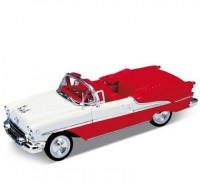 Auto 1:24 Welly 1955 Oldsmobile Super 88 červený